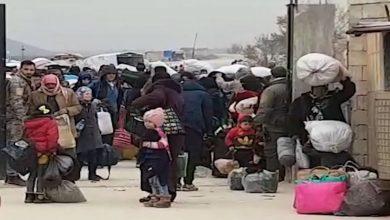 Photo of Beşa sêyemîn a koçberên Idlibê , gihaşt bajarê Minbicê