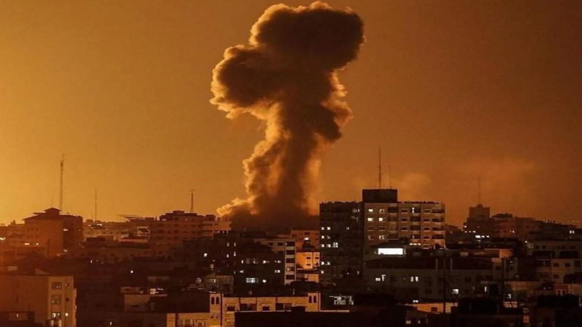 Photo of Îsraîlê bersiva topên ji Xezayê hatin avêtin, da