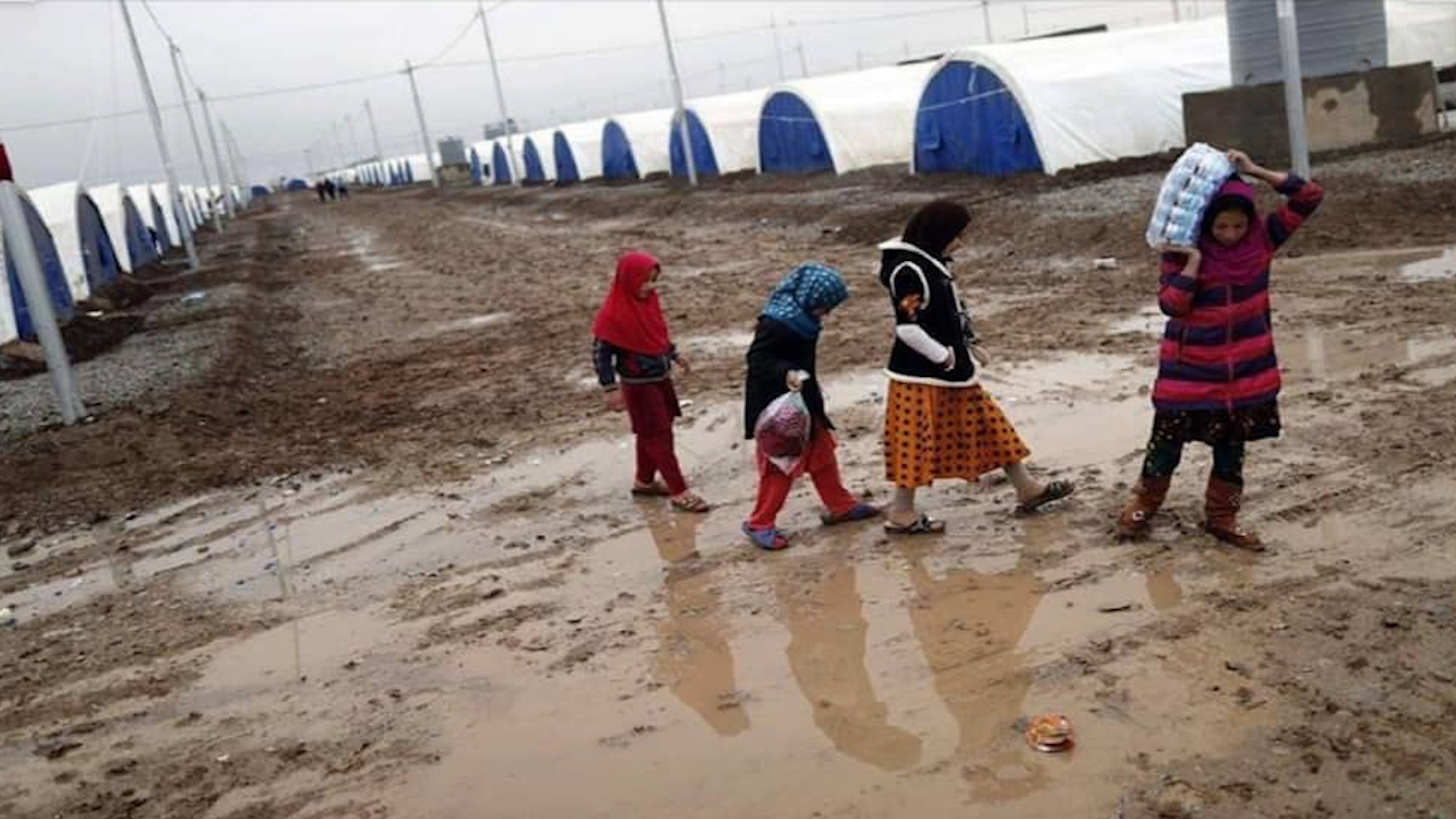 Photo of Li kampa Waşûkanî hêjmara koçberan gihişt 7500 kesî
