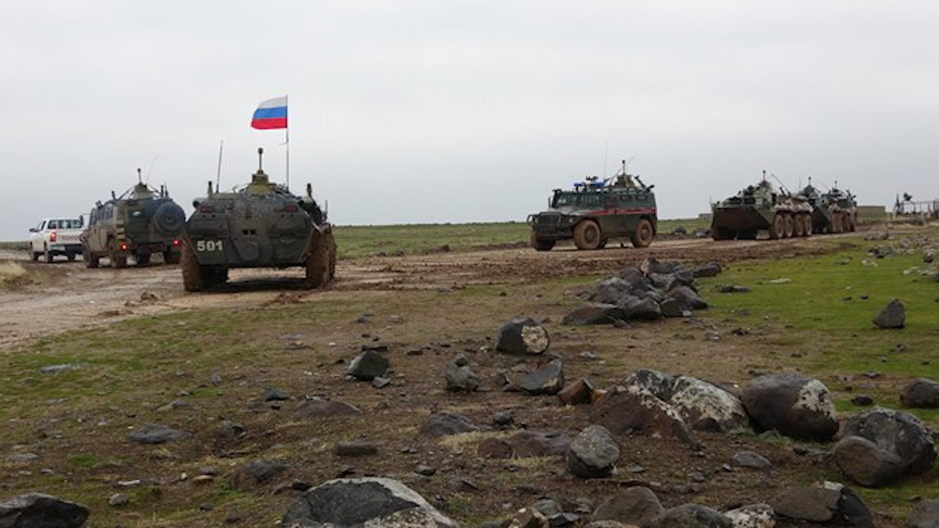 Photo of Li gundên herêma Aliyan a Girkê Legê îro dewriya Rûsya û Hêzên Ewlekariya Hundirîn pêk hat.