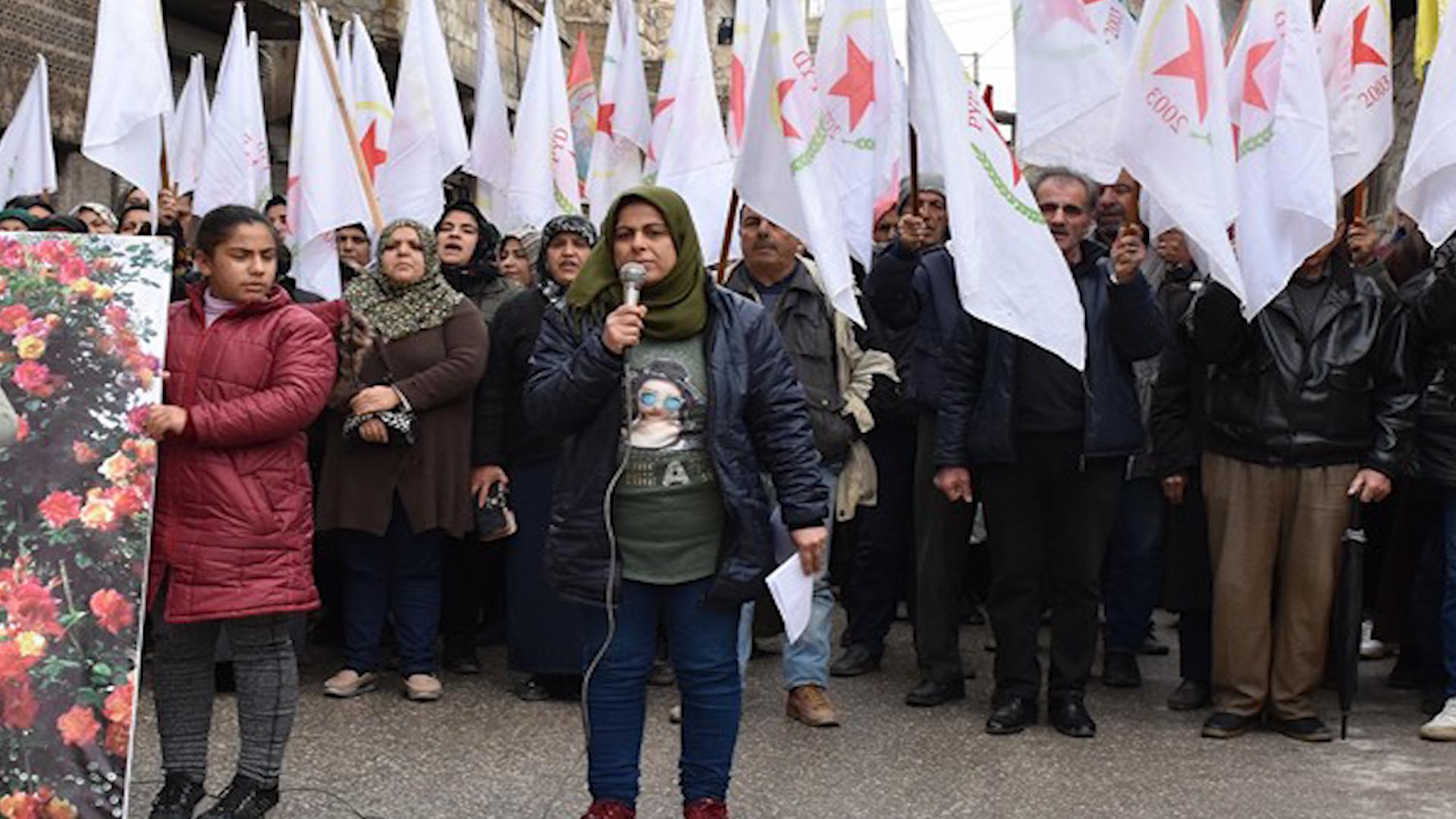 Photo of Buroya PYD'ê ya Şêxmeqsûdê tecrîda şidandî a li ser rêber Ocalan şermezar kir