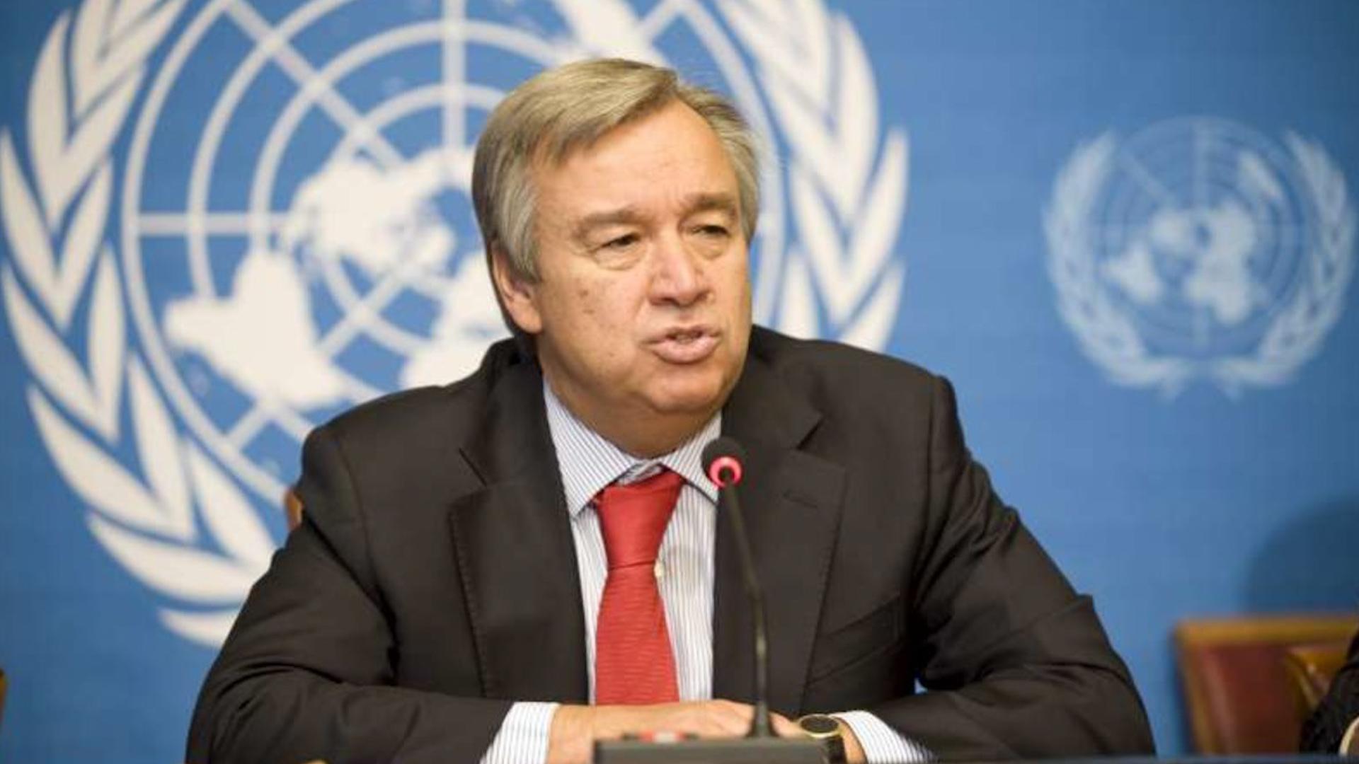 Photo of Antonio Guterres: Destwerdana derve li Lîbya, aloziyê kûrtir dike