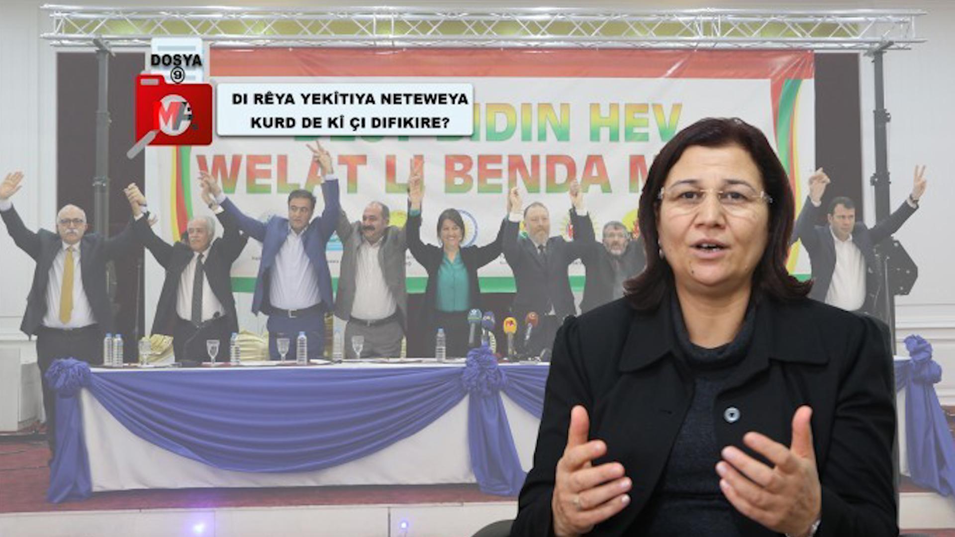 Photo of Leyla Guven: Tenê astengî nebûna yekîtiya netewî ye
