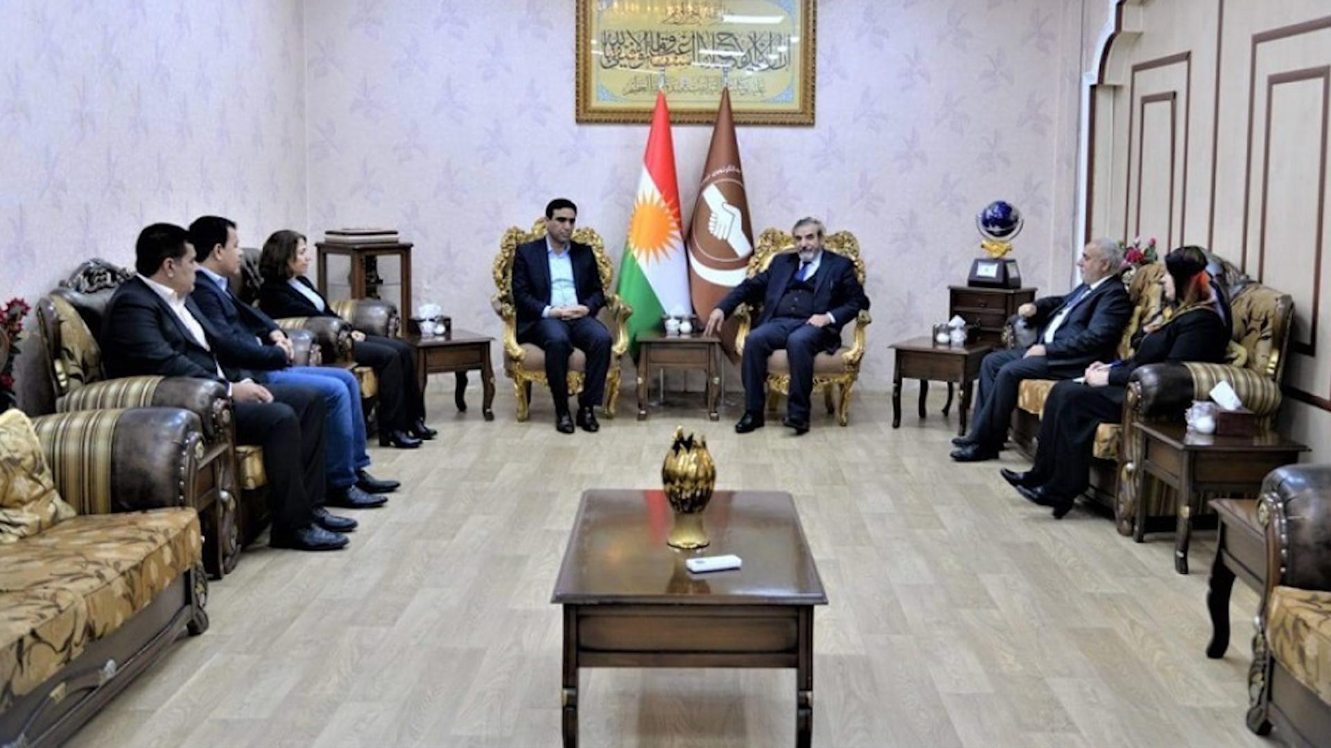 Photo of PYD û Yekgirtûya Îslamiya Kurdistanê girîngiya yekîtiyê nîqaş kirin