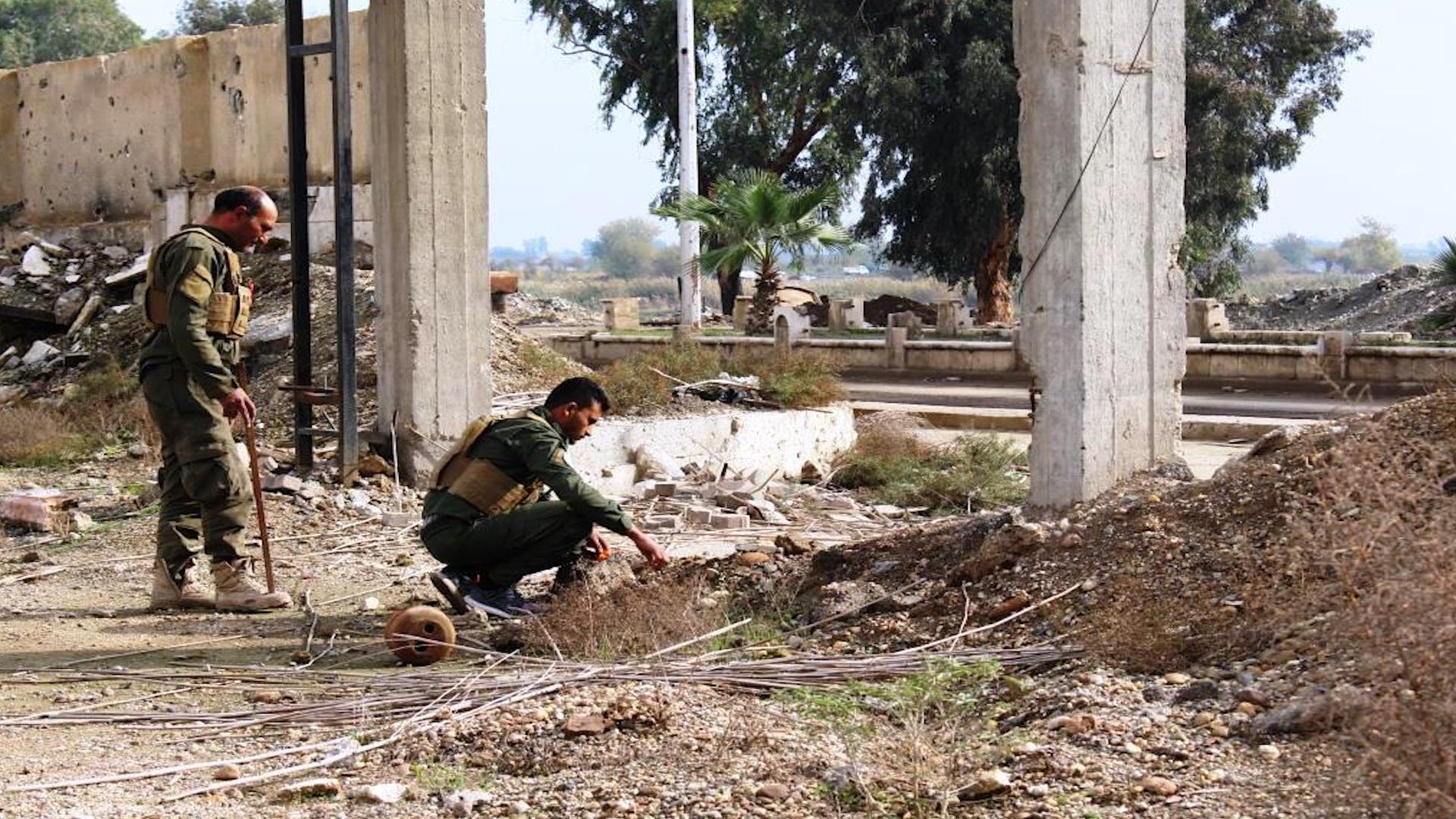 Photo of Li Reqayê tîma endezyariyê 18 hezar mayin bê bandor kirin