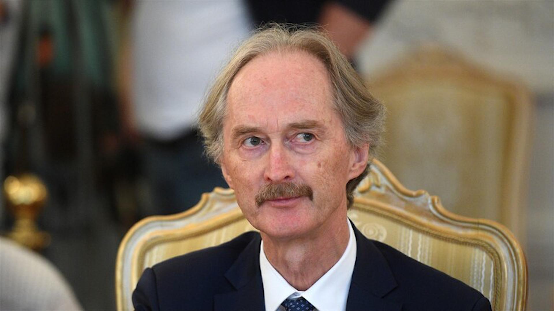 Photo of Geir Pedersen: tê payîn di mehên pêş de wê komîteya destûrî ya Sûrî rûniştinên nû pêk bîne