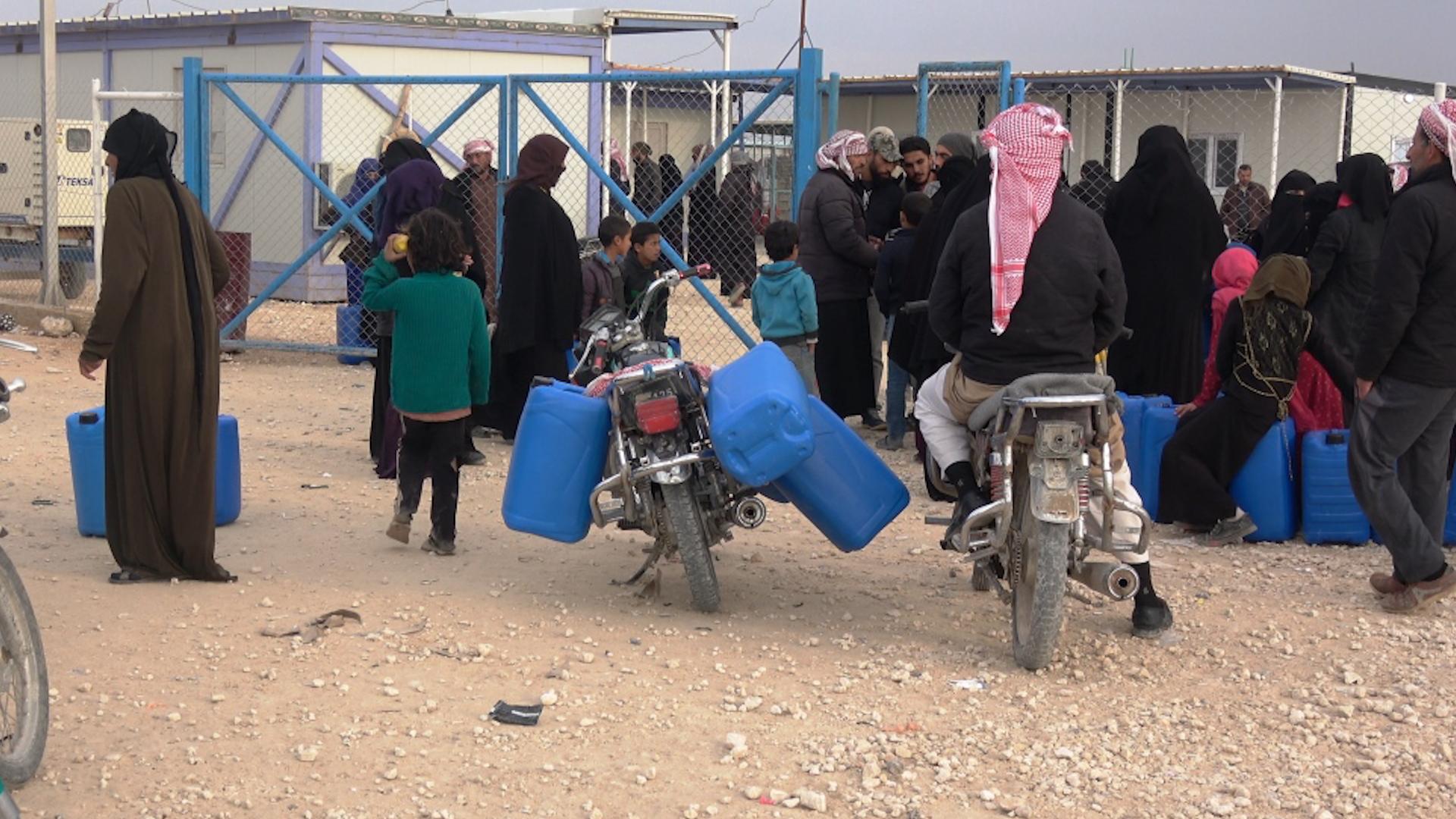 Photo of Hejmara koçberan li kampa Mehmûdiyê gihaşt 8 hezarî