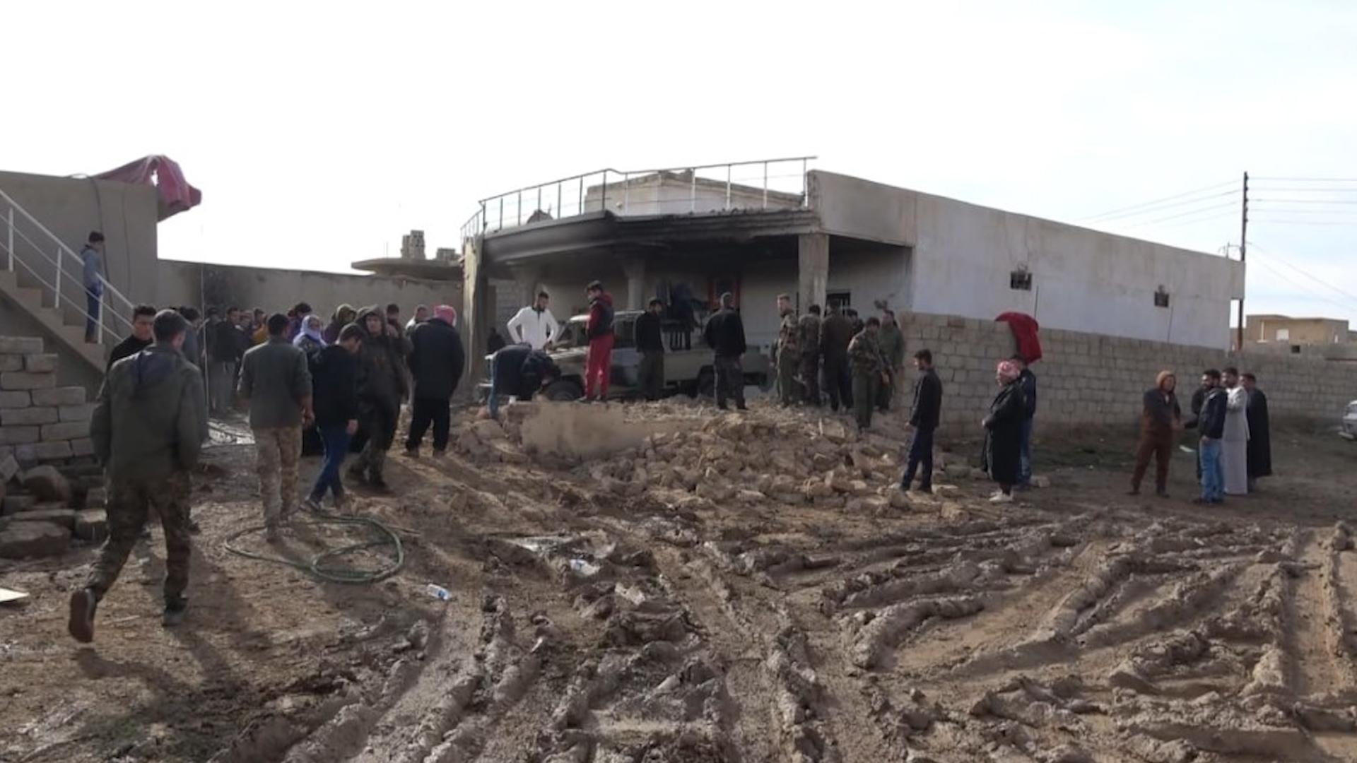 Photo of Artêşa Tirk a dagirker navçeya Digurê ya Şengalê bombebaran kir