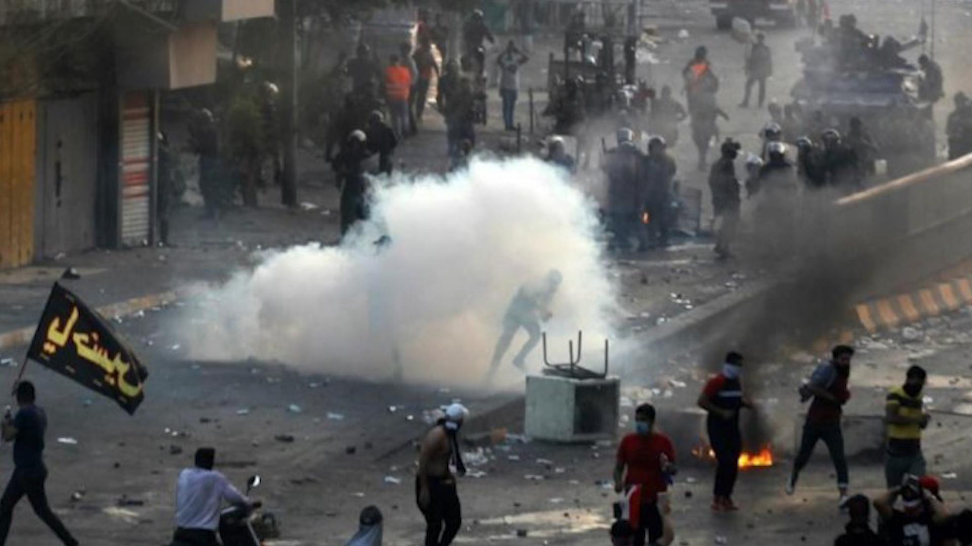 Photo of Li Iraqê di xwepêşandanan de herî kêm 6 kes hatin kuştin