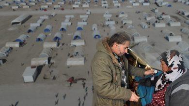 Photo of Şandeyek ji desteya Tenduristiyê serdana koçberên kampa Waşokanî kir