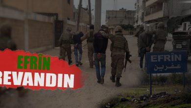 Photo of Revandina sivîlan li Efrînê didome