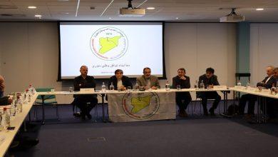 Photo of MSD'Ê Komxebata 6. a diyalogan li Birukselê li dar xist