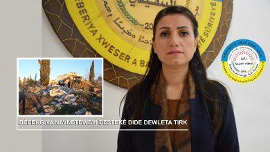 Photo of Rêveberiya Xweser: Bêdengiya Navneteweyî destekê dide dewleta Tirk