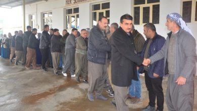 Photo of Sê partiyên Başûrê Kurdistanê serdana birîndarên Mexmûrê kirin