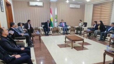 Photo of Şandeyek ji partiyên Bakurê Kurdistanê serdana partiyên Li Başûrê Kurdistanê kir