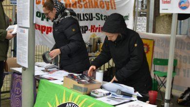 """Photo of Boykotkirina malên Tikriyê""""Nebin hevkarê sûc û gelê Kurd nekujin"""""""