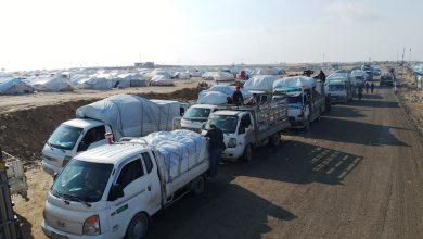 Photo of Beşa 12'an a koçberên Reqa û Tebqa ji Kampa Holê hat derxistin
