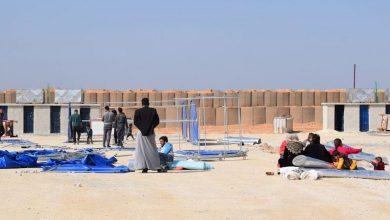 Photo of Kampa Girê Spî pêvajoya 2. a avakirina kampê dest pê kir
