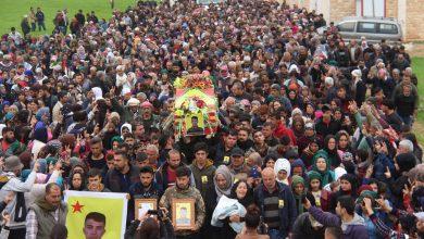 Photo of Cenazeya şehîd Muslin Kirocî bi merasîmekê hat oxirkirin
