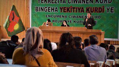 Photo of Ciwanên Rojava li Qamişlo komcivînek li dar xist