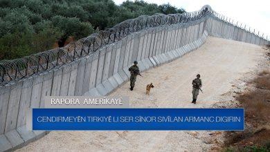 Photo of Rapora Amerîkayê: Cendirmeyên Tirkiyê li ser sînor sivîlan armanc digirin