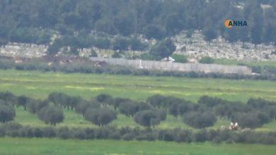 Photo of Dewleta Tirk a dagirker Axa Efrînê bi dîwaran perçe dike