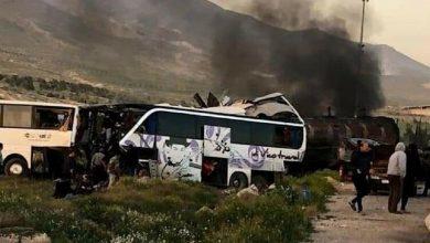 Photo of Li Şamê qezayeke Tirafîkê rû da ,30 kesî jiyana xwe ji dest da û hejmarek birîndar bûn