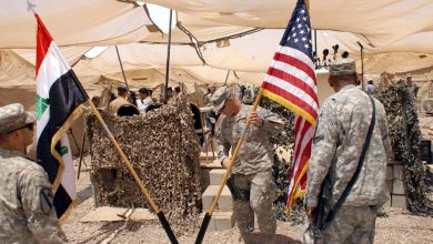 Photo of Koalîsyona Navdewletî, perwerdekirina leşkerên Iraqî rawestand