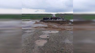 Photo of Li Girkê Legê ji ber lehiyê pirek hilweşiya