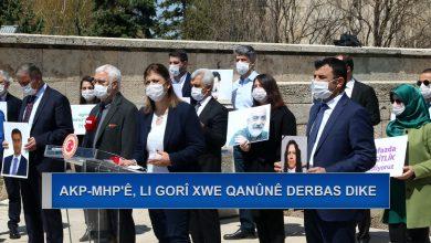 Photo of Desthilatdariya AKP-MHP'ê, li gorî xwe qanûnê derbas dike