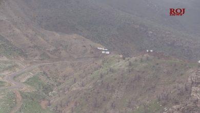Photo of Balafirên Tirkiyê, herêma Zînê Wertê ya Başûrê Kurdistanê bombebaran kir