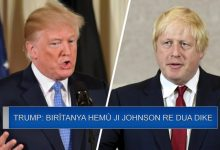 Photo of Trump: Birîtanya hemû ji Johnson re dua dike