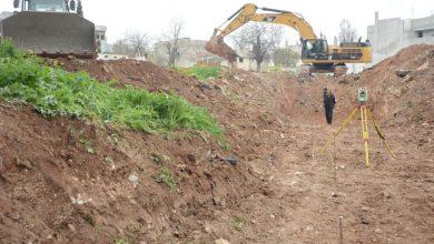 Photo of Şaredariya Kobanê, wê 3 mehên din projeya kanalîzasyona ava lehiyê bi dawî bike
