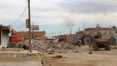 Photo of Şaredariya bajarê Şedadê kavilên şer, ên nava bajêr radike