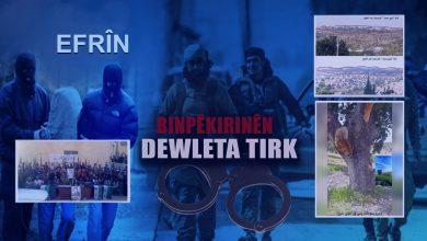 Photo of Dewleta Tirk li Efrînê tabûrek çeteyên bi navê Sedam Hisên bi cih kir