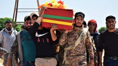 Photo of Cenazeyê şehîd Mihemed Cefal li Hesekê hat oxirkirin