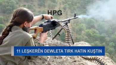Photo of HPG: Li bedlîsê û garzanê 11 leşkerên dewleta tirk hatin kuştin