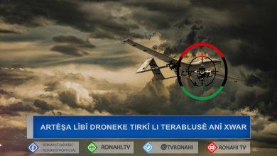 Photo of Artêşa Niştimanî droneke Tirkî li başûrê Terablusê anî xwar