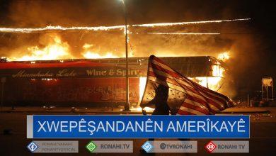 Photo of Li 11 bajarên Amerîkayê qedexekirina derketinê hat ragihandin
