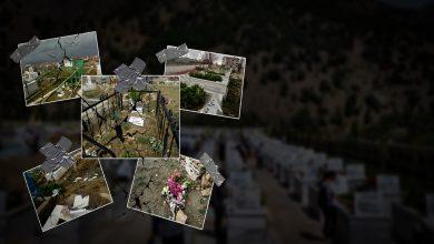 Photo of Leşkerên AKP'ê goristanên li Hezexê jî xera kirin