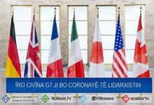 Photo of Îro civîna G7 ji bo Coronayê tê lidarxistin