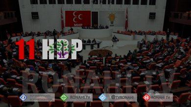 Photo of 11 Jê HDP'Î têkildarî 13 Parlamenteran fezleke hatin amadekirin