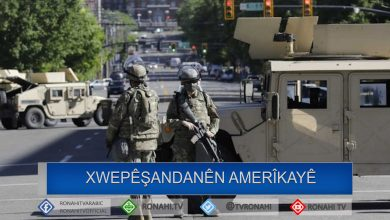 Photo of Pentagon 1600 leşker şandin Waşingtona paytext