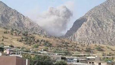Photo of Dewleta Tirk herêmên Amêdiyê bi balafiran bomberdûman kir