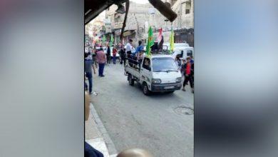 Photo of Bi dîmen..Li dijî dagirkeriya Tirk bi sedan şêniyên taxa Zorava a Şamê daketin qadan