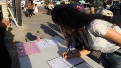 Photo of Jinên ciwan ên têkoşer li Silêmaniyê bi sedan îmze kom kirin