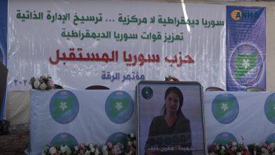 Photo of Partiya Pêşerojê ya Sûriyê şaxê Reqayê kongereya xwe ya yekem li dar xist