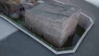 Photo of Ilisû-Heskîf betona ku Qesra Biçûk diparast, hilweşiya