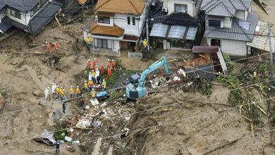 Photo of Li Japonyayê 13 kes wenda bûne û hişyariya lehî û erdhejan hat kirin