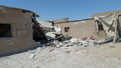 Photo of gundê Hemam ê Girê Spî ji aliyê balafirên nenas ve hat bombekirin